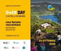 Open Day Castelli Romani e Monti Prenestini