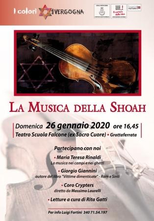 Giorno della Memoria, a Grottaferrata la Musica della Shoah
