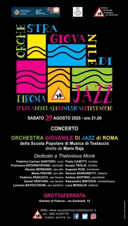 Concerto Orchestra Giovanile di Jazz di Roma