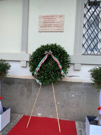 8 Settembre, Grottaferrata ricorda i suoi cittadini vittime dei bombardamenti della Seconda Guerra Mondiale