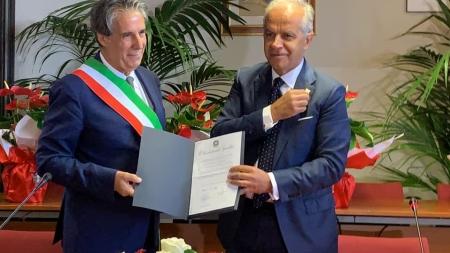 Grottaferrata,in municipio la cerimonia di consegna del titolo di Città con il Prefetto di Roma